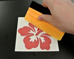 Step 2 - Prepare the sticker for application
