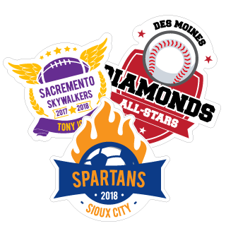 Sport And School Fundraiser Decals Car Stickers - Car magnets for sport fundraiser