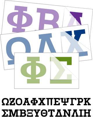 Custom greek letter stickers and decals choose a greek font below to get started