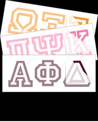 Choose a greek font below to get started