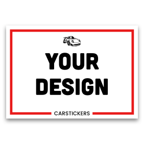 Create A Custom Sticker Or Decal Car Stickers - Make your own vinyl stickers for cars