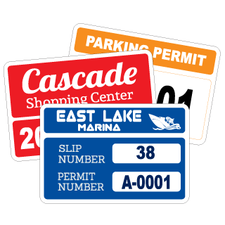 Rectangle. Parking Permits